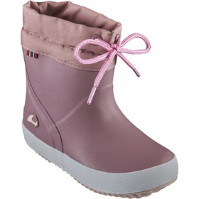 Viking Footwear Indie Alv Thermo Wool Rubber Boots Kids dusty pink